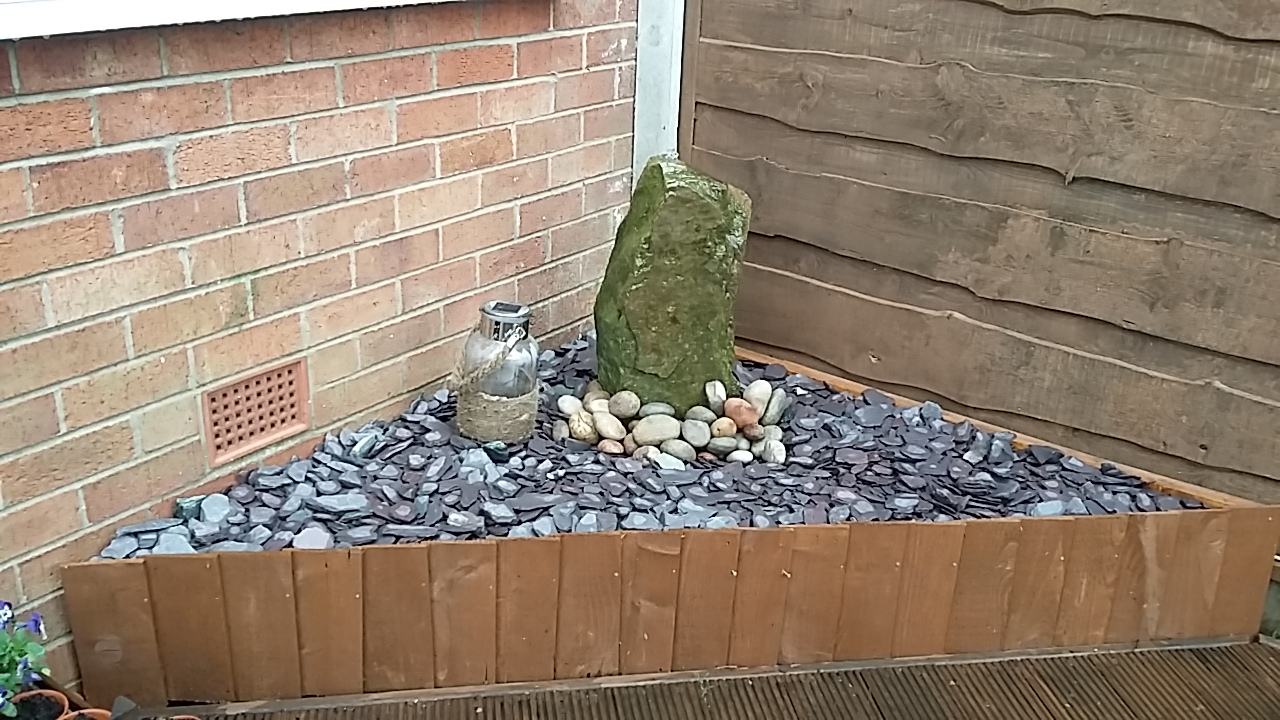 Garden Rock Water Feature
