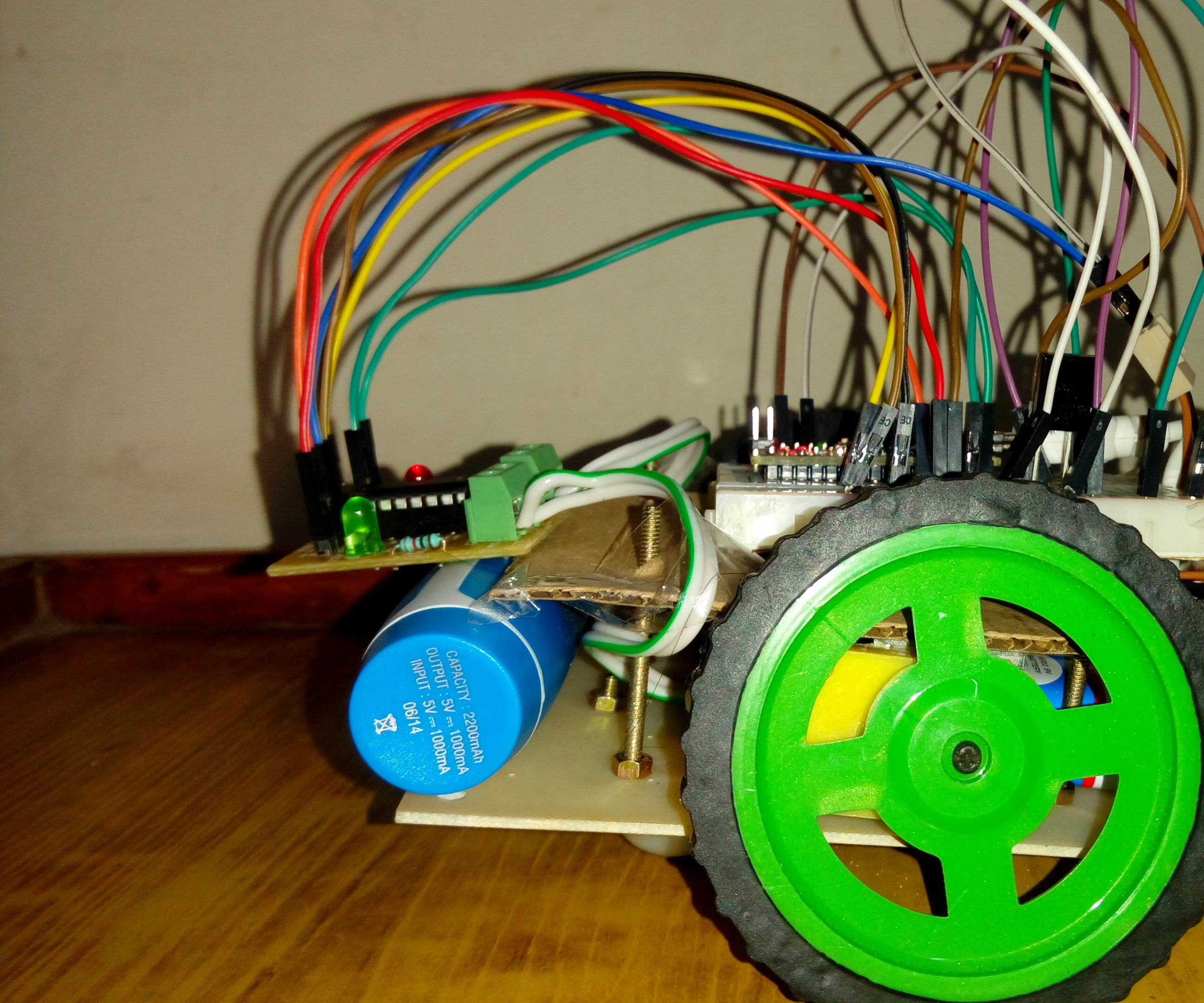 Remote Controlled Robot Using Arduino