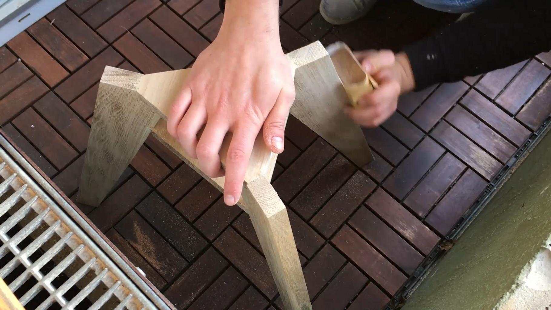 Sanding & Oiling