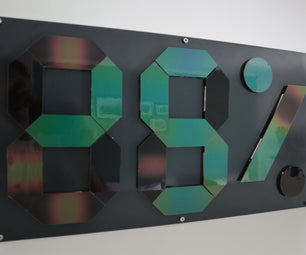 Thermochromic Temperature & Humidity Display