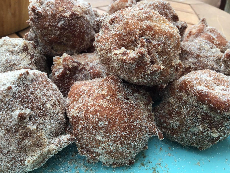 Harvest Apple Cinnamon Sugar Holes