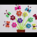 How to Make Quilled Paper Flowers and Butterflies in Rainbow Colors