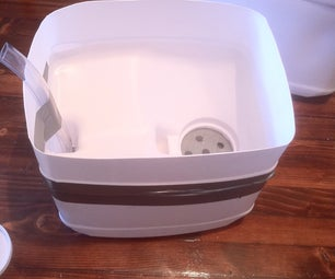 Self Watering Planter From Cat Litter Container