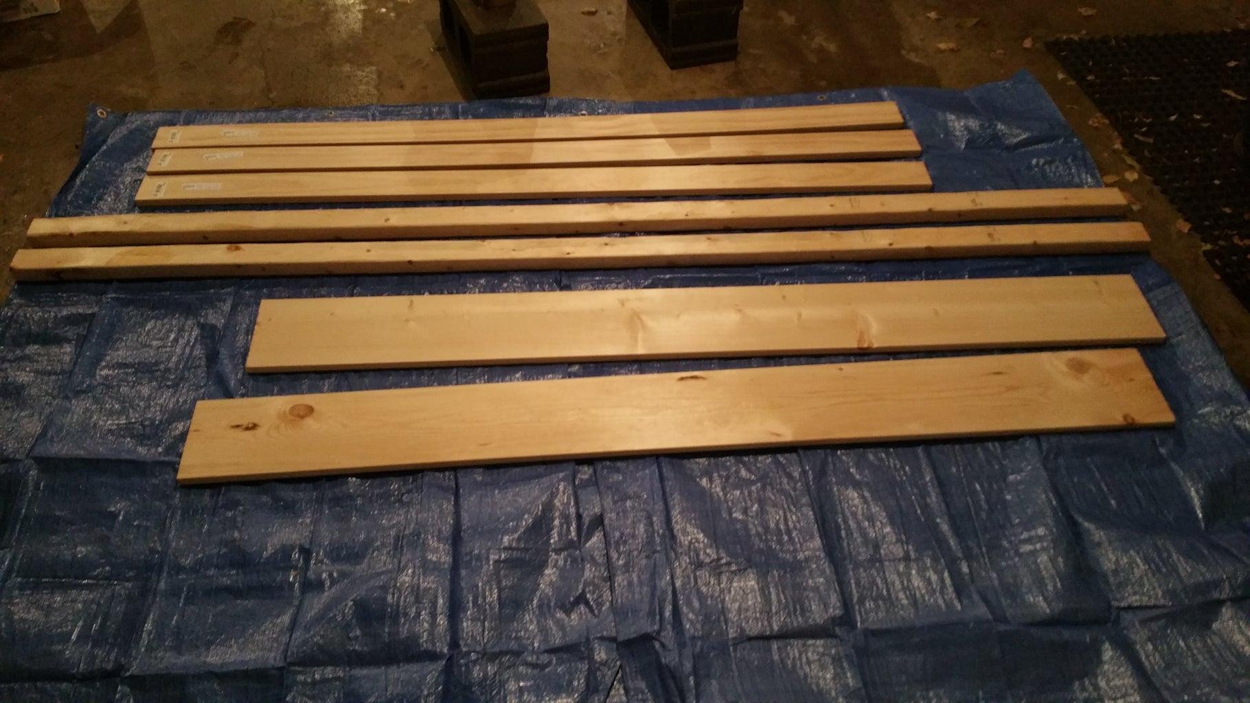 Wooden Bench Under $50
