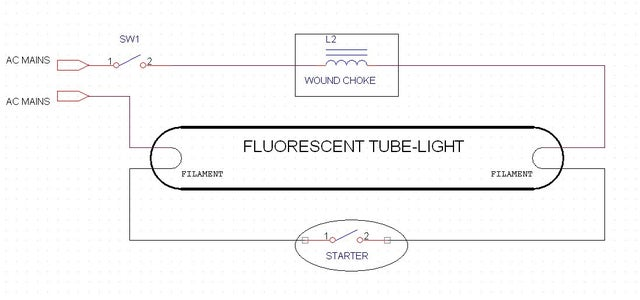 Theory 1 : Fluorescent Tubes With Wire-Wound-Ballasts