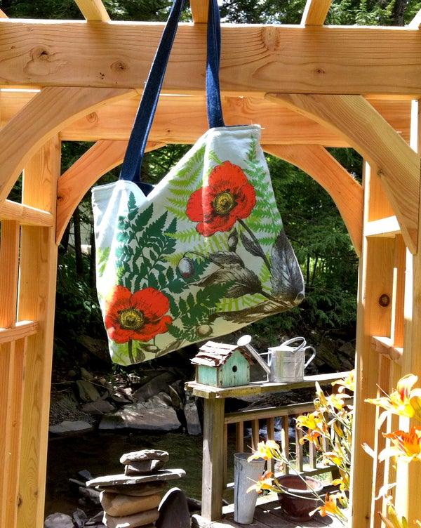 Easy-Peasy Reversible Tote Bag
