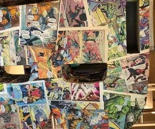 Cool Superhero Birthday Name Postbox