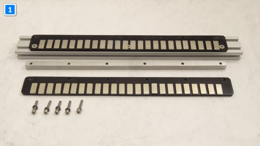 Building the Motor: the Magnetic Rail