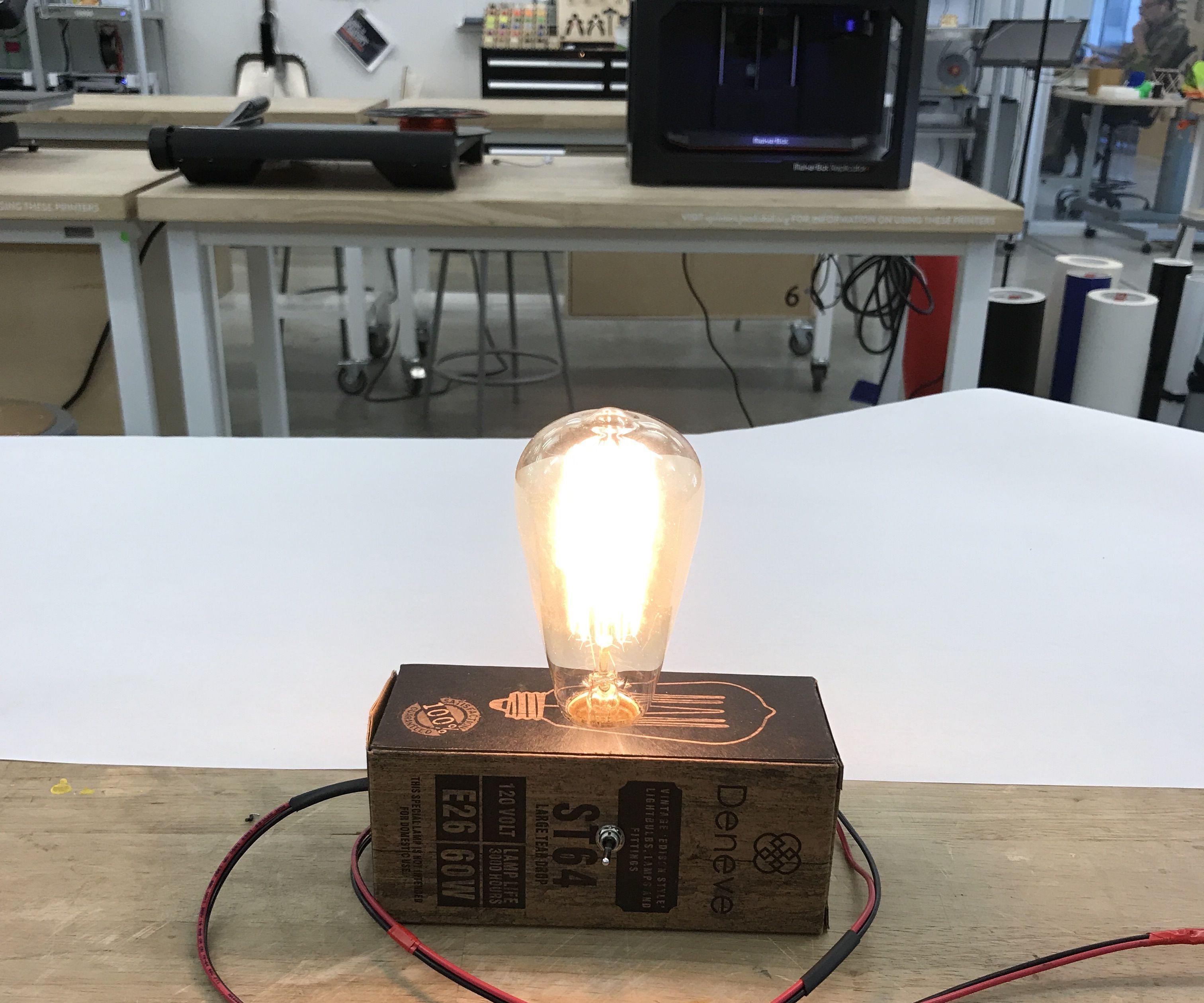 DIY College Night Light