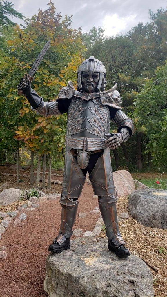 Riddick Lord Marshall Costume