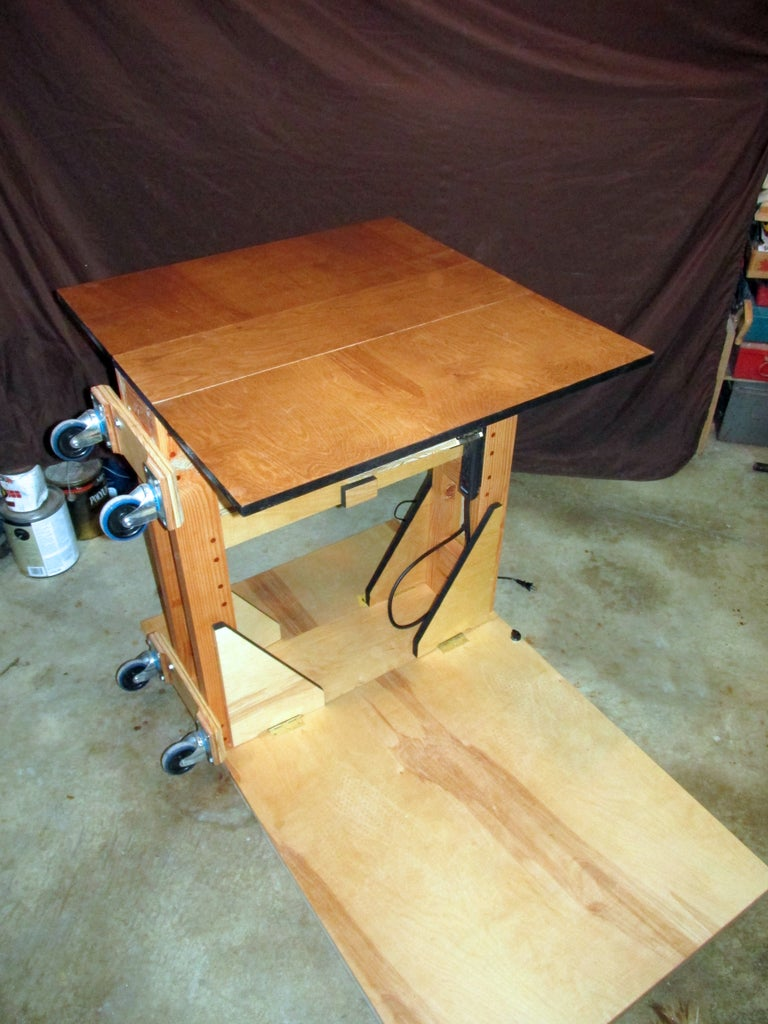 Finishing: Applying Stain and Linseed Oil
