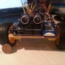 Arduino L293D Obstacle Avoiding Robot