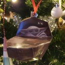Paper Craft Baby Yoda Christmas Decorations