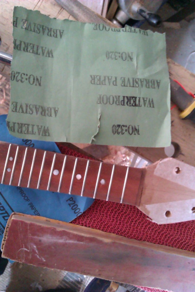 Add the Frets and Make Them Smooth