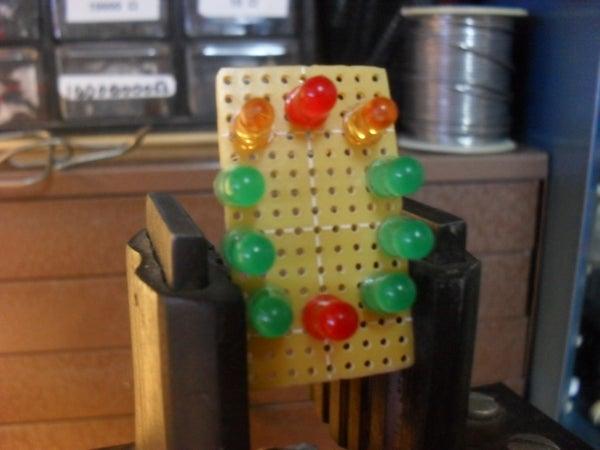 Arduino Circular Cylon!