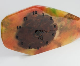 How to Make a Resin Clock