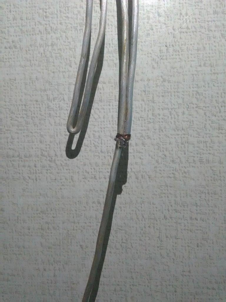 制作钢丝鸟模型