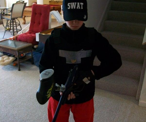 Last Minute Swat Costume