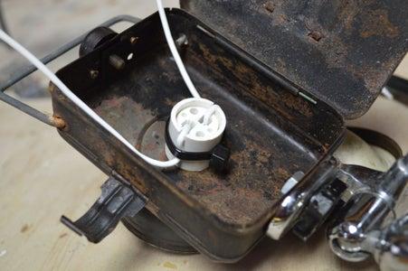 Adding the Bi Pin Socket
