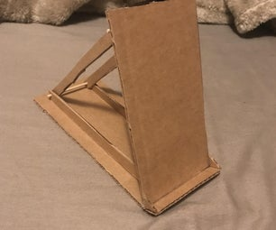 Cheap and Effective: Cardboard Phone Stand