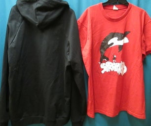 Transferring  T-shirt Silkscreens to a Hoodie