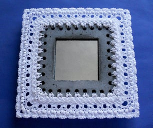 Frame Made of Yarn and Concrete