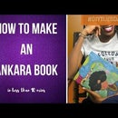 DIY How to Make an African Inspired Book