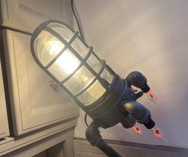 Rocket Ship Light\Lamp