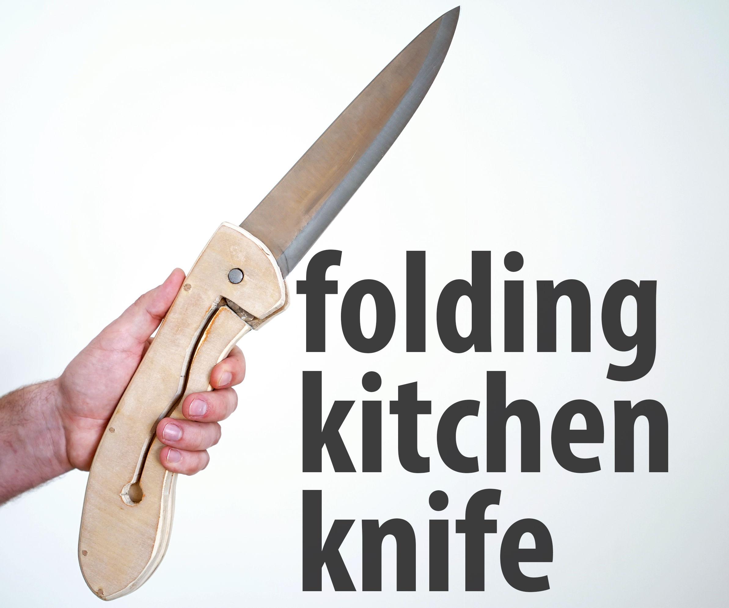 folding kitchen knife