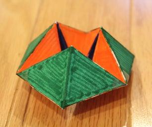 The Super Duper Paper Hexagon Transformer Toy!!!