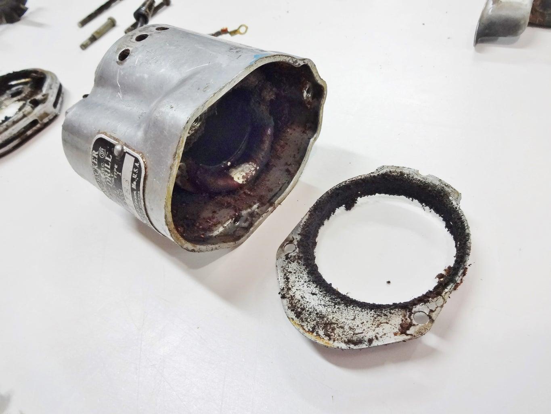 Remove Motor Components