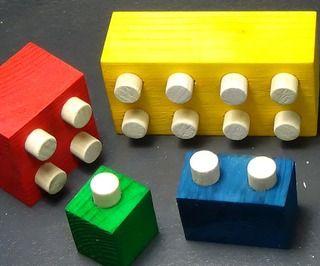 Wood Legos