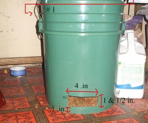Gravity/Auto Cat Feeder From 2 #5 Gallon Buckets