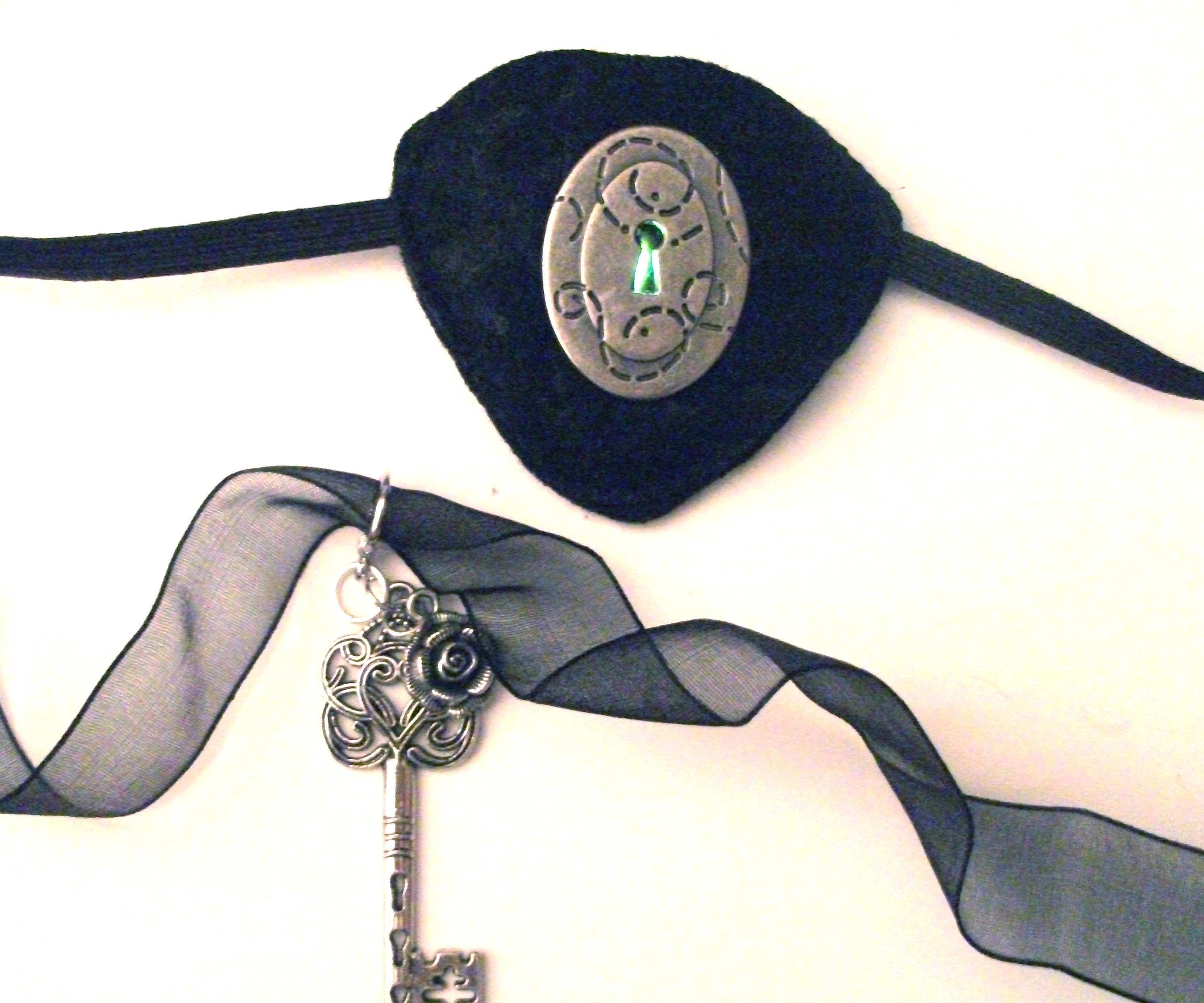 Pulsing Keyhole Eye Patch