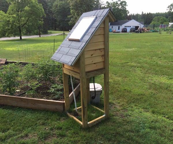 Remote Solar Garden Watering System