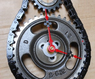 Timing Gear and Chain Clock - Almost Free!