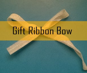 Gift Ribbon Bow in a Minute