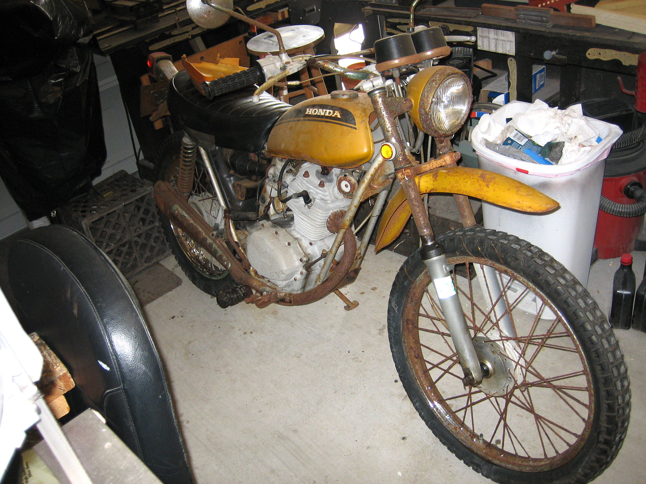 Resurrecting a 38 year old motorcycle