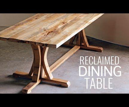 DIY Rustic Farmhouse Dining Table