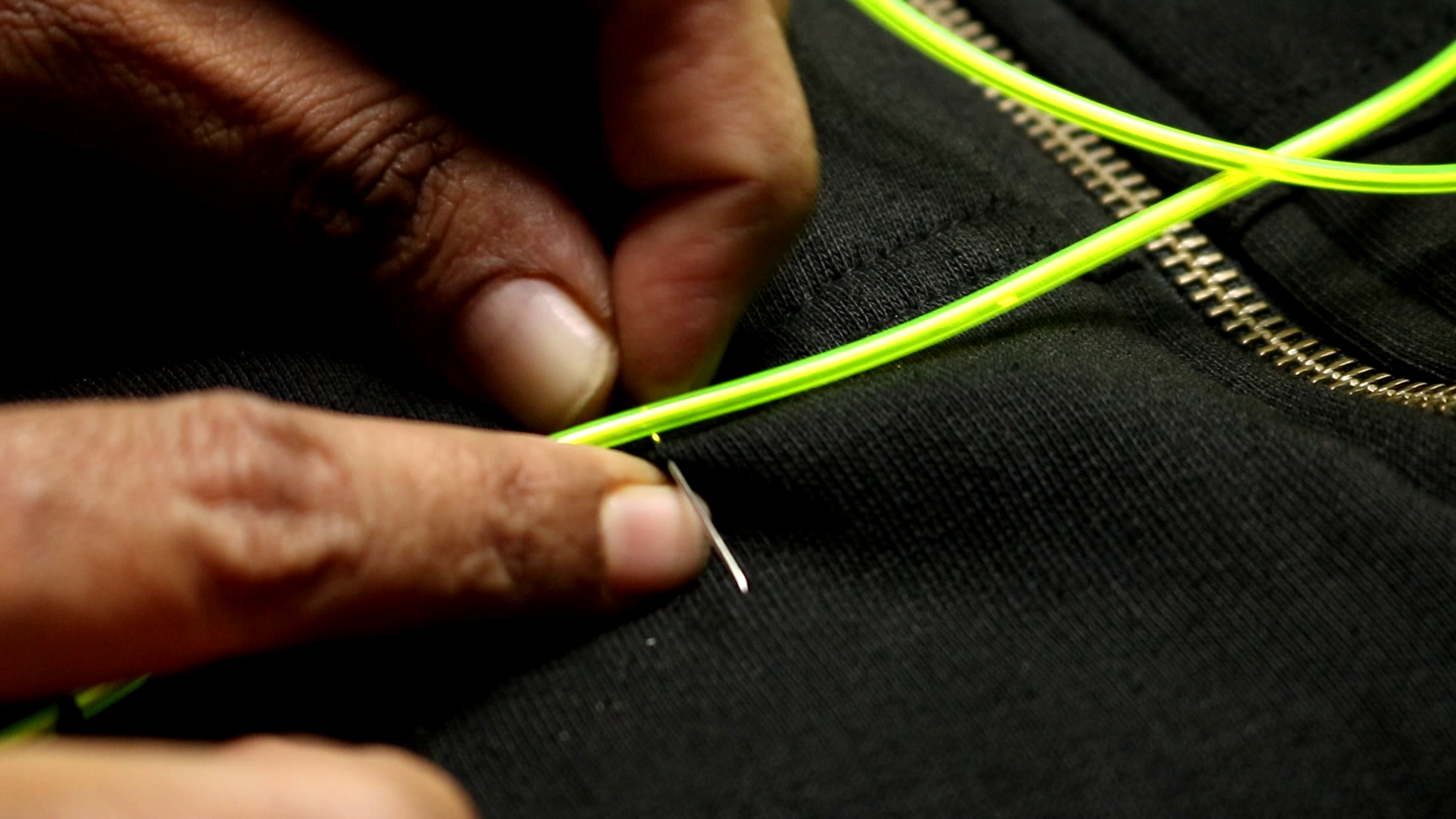 Sewing the Jacket!