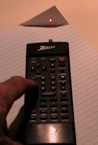 Convert an Old TV Remote Into a Laser Pointer