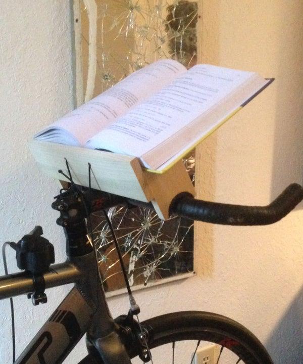 Stationary Bike Book Holder