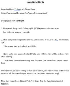 Step 1 - Idea