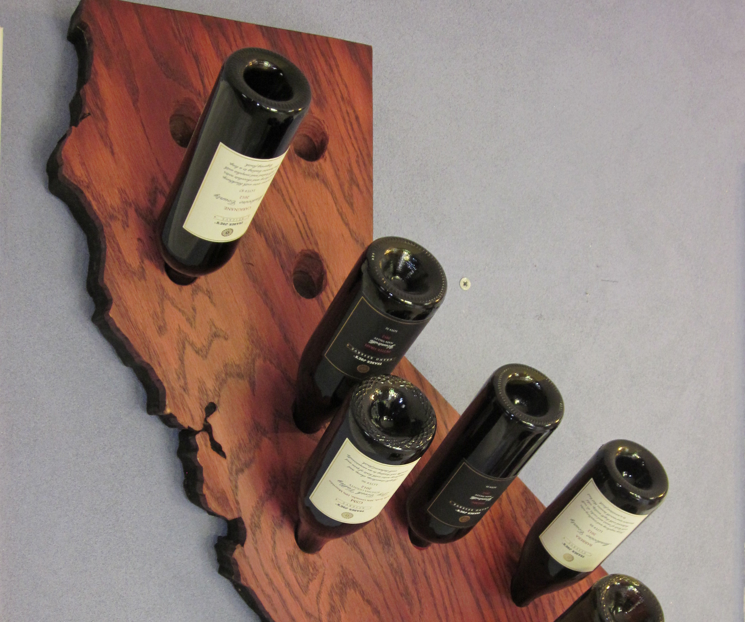 California Wine Rack