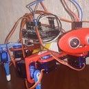 3D Printed Quadruped Arduino Robot
