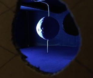 月亮相框模型