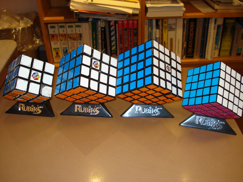 How to solve a 5x5 Rubik's Professor cube