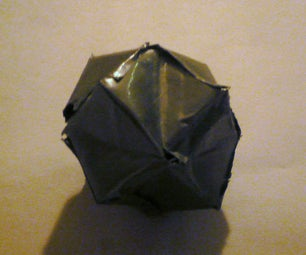 Duct Tape Stellated Octahedron