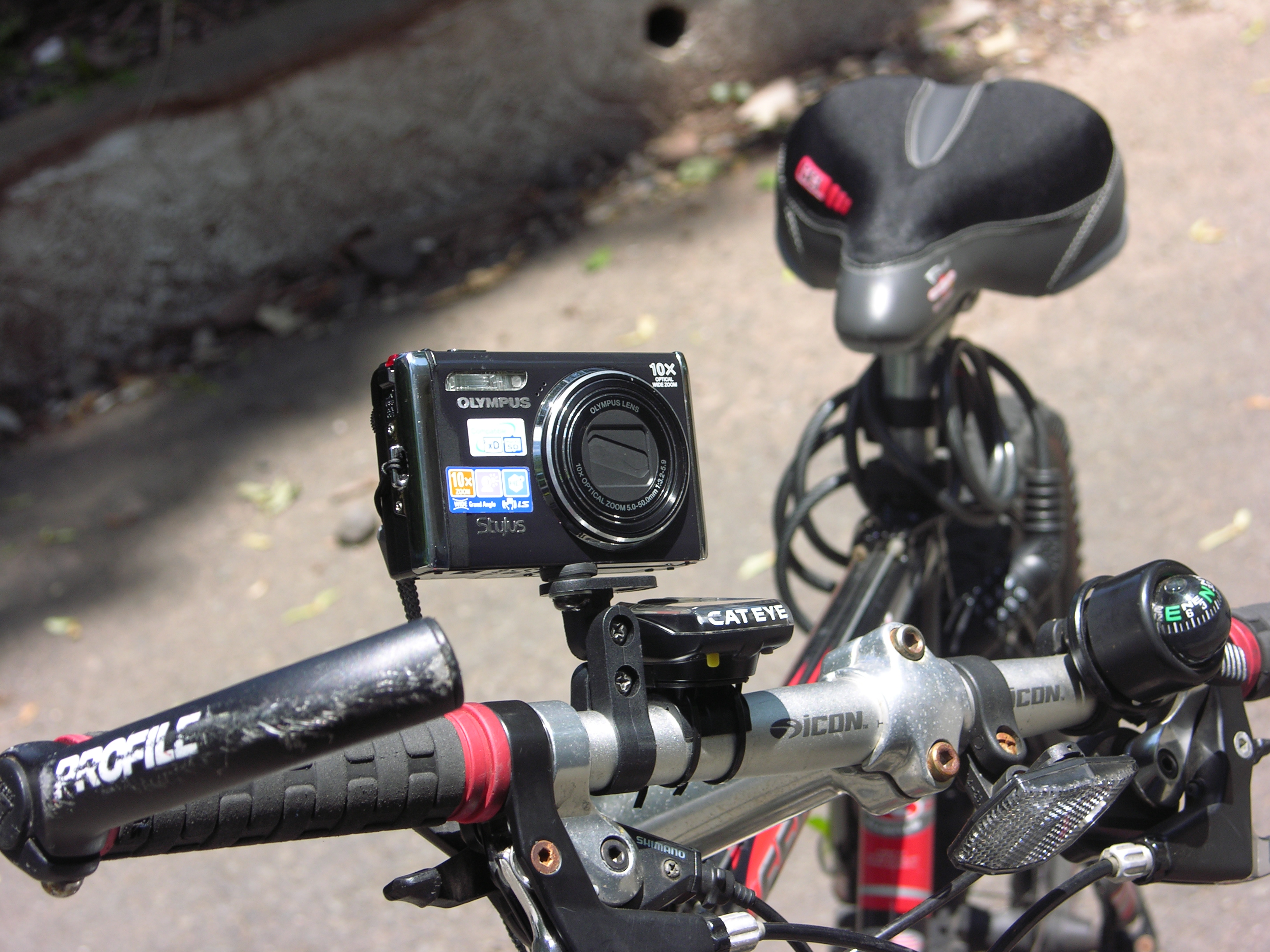 Quick and Easy to make Camera Bike mount!