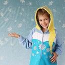 No-Sew Elsa Hoodie